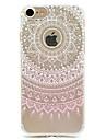 용 아이폰7케이스 / 아이폰6케이스 / 아이폰5케이스 패턴 케이스 뒷면 커버 케이스 레이스 디자인 소프트 TPU Apple아이폰 7 플러스 / 아이폰 (7) / iPhone 6s Plus/6 Plus / iPhone 6s/6 / iPhone