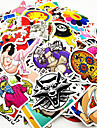 ZIQIAO 500 Pcs/ Pack Random Music Film Vinyl Skateboard Guitar Travel Case Sticker Car Decal Cute Stickers