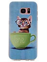 Coque Pour Samsung Galaxy S8 Plus S8 Motif Coque Chat Flexible TPU pour S8 Plus S8 S7 edge S7 S6 edge S6 S5 S4 S3
