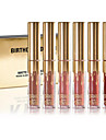 Gloss Labial Mate Liquido Longa Duracao Multi Cores 1set Others/Others