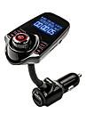 agetunr nadajnik FM głośnomówiący zestaw samochodowy bluetooth mp3 muzyka Adapter radio odtwarzacz z pilotem do iPhone / smartfon lg
