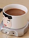 USB для подогрева чашек кофе в офисе чай кружка обогреватель коврик коврик 2.5w 5v зимний напиток теплый компьютер