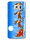 For Samsung Galaxy S7 S7 Edge Santa Claus TPU Soft Case Cover S6 Edge Plus