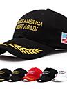 Муж. Жен. Для пары шляпа Уникальный дизайн На каждый день Мода Черный и белый Ткань Повседневные Спорт Галстук