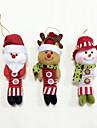 Holiday Decorations Animals / Snowmen / Santa Ornaments Christmas 1 / 2 / 3