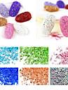 1000 pcs Glitters / Fashion Diario Nail Art Design