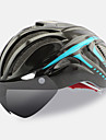 FTIIER Bike Helmet CE Cycling 18 Vents Adjustable One Piece Helmet with Googles Urban Full-Face Aero Helmet Sports Youth