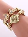 Women\'s Dress Watch Fashion Watch Wrist watch Bracelet Watch Colorful Quartz Alloy BandVintage Sparkle Butterfly Bohemian Charm Bangle Strap Watch