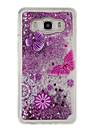 Capinha Para Samsung Galaxy J5 (2016) J3 (2016) Liquido Flutuante Estampada Capa Traseira Glitter Brilhante Macia TPU para J5 (2016) J5