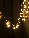 String Light Waterproof LED Strip 10m 100LED Copper Wire lamp Warm White For Outdoor Christmas decoration lights