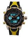 SANDA Homme Montre Militaire Montre Smart Watch Montre Tendance Montre Bracelet Montre de Sport Numerique Quartz Japonais Chronographe