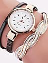 Жен. Наручные часы Часы-браслет Модные часы Кварцевый Цветной PU Группа Кулоны Винтаж В точечку На каждый день Богемные Cool