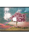 1 pc Skin Sticker for Scratch Proof Scenery Pattern PVC MacBook Pro 15\'\' with Retina MacBook Pro 15\'\' MacBook Pro 13\'\' with Retina