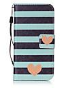 Custodia Per Samsung Galaxy S7 edge S7 Porta-carte di credito A portafoglio Con chiusura magnetica Fantasia/disegno Integrale Con cuori