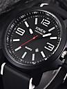 Men\'s Sport Watch Wrist Watch Quartz Black Calendar / date / day Cool Analog Yellow Red Blue / Stainless Steel