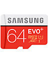 SAMSUNG 64GB TF cartao Micro SD cartao de memoria UHS-I U1 class10 EVO Plus EVO+