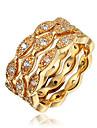 여성 새해 맞이 모조 큐빅 의상 보석 도금 골드 18K 금 보석류 제품 결혼식 파티 일상 캐쥬얼