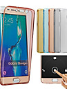 Case For Samsung Galaxy Samsung Galaxy Case Transparent Full Body Cases Solid Color Soft TPU for J7 (2016) J7 J5 (2016) J5 J3 J2 J1 Grand