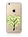 Case For Apple iPhone X iPhone 8 Plus iPhone 5 Case iPhone 6 iPhone 7 Transparent Pattern Back Cover Tree Soft TPU for iPhone X iPhone 8