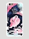 For Pattern Case Back Cover Case Flamingos Hard PC Apple iPhone 7 Plus / iPhone 7 / iPhone 6s Plus/6 Plus / iPhone 6s/6