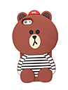 3D Bear Silicone Case for iPhone 7 7 Plus 6s 6 Plus iPhone Cases
