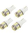 YouOKLight 4pcs T10 Coche Bombillas 2 W SMD 1206 200 lm 24 LED Luz de Intermitente Para Todos los modelos Todos los Anos