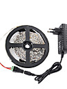 5m 3528 300 smd IP65 rgb AC 100-240V 12v 3a voeding linker met lamp power supply