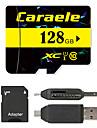 Caraele 128GB Micro SD card Class 10 80 OtherMultiple in one card reader Micro sd card reader SD card reader CF card reader Memory stick reader