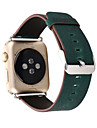 Watch Band for Apple Watch 3 38mm 42mm Classic Buckle Leather Replacement Strap With Adapter