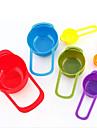 6 комплектов цвета дозирующего метр ложка кухни