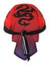 XINTOWN Skull Caps Hoed Hoofdzweetband Winddicht Zonbescherming UV-bestendig Ademend Sneldrogend Fietsen / Wielrennen Rood Winter voor Heren Dames Unisex Kamperen&Wandelen Vissen Fietsen / Fietsen