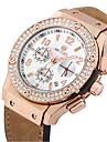 MEGIR Men\'s Dress Watch Fashion Watch Wrist watch Sport Watch Military Watch Quartz Digital Calendar / date / day Genuine Leather Band