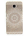 Case For Samsung Galaxy A5(2016) / A3(2016) IMD / Transparent / Pattern Back Cover Mandala Soft TPU for A5(2016) / A3(2016) / A5