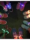 hommes de la mode des femmes allument conduit lacets partie nuit eclatante course lacets club de point culminant lumineux lacets