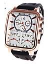 Men\'s Wrist watch Military Watch Dress Watch Fashion Watch Sport Watch Quartz Digital Casual Watch Genuine Leather Band Charm Luxury