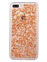 Para iPhone X iPhone 8 Case Tampa Anti-poeira Capa Traseira Capinha Glitter Brilhante Macia PUT para Apple iPhone X iPhone 8 Plus iPhone