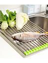 1pc Ράφια & Στγρίγματα Ανοξείδωτο ατσάλι Εύκολο στη χρήση Οργάνωση κουζίνας