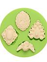 Инструмент для отделки многообещающий конфеты Лед Шоколад Пицца Пироги Cupcake Печенье Торты Other Силикон Экологичные Своими руками День