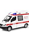Maqueta de coche Vehiculos de traccion trasera Ambulancia Coche Novedades Musica y luz Clasico Chico Juguet Regalo / Metal