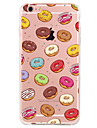 For Apple iPhone7 7 Plus 6S 6 Plus SE 5S Case Cover Donuts Pattern High Penetration Painted TPU Material Phone Case