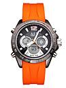 ASJ Мужской Спортивные часы Модные часы электронные часы ЯпонскийLCD Compass Календарь Защита от влаги С двумя часовыми поясами