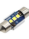 SO.K 2pcs 31mm Car Light Bulbs 3W SMD 5730 300lm LED Interior Lights