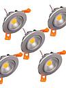 천장 조명 1 LED가 고성능 LED 밝기조절가능 장식 따뜻한 화이트 차가운 화이트 300-330lm 3000 6000
