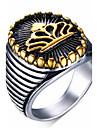 Муж. Массивные кольца Кольцо бижутерия Нержавеющая сталь Бижутерия Назначение Для вечеринок Повседневные