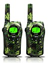 Army for Kids Walkie Talkies 22 Channels and  (up to 5KM in open areas) Armygreen Walkie Talkies for Kids (1 Pair) T668