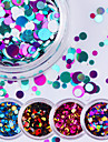 12pcs Glitter & Poudre Sequins Glitters Fashion High Quality Daily