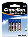 Camelion Camelion ааа углерода цинка батареи 1.5v 4 шт