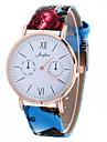 Женские Модные часы Наручные часы / Кварцевый PU Группа Cool Черный Белый Синий Красный Коричневый Серый Фиолетовый