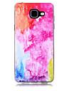 Capinha Para Samsung Galaxy A5(2017) A3(2017) Transparente Estampada Capa traseira Cores Gradiente Macia TPU para A3 (2017) A5 (2017) A7