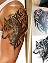 1 pcs Tetovací nálepky dočasné tetování Totemová řada / Zvířecí řada / Secese / retro Voděodolné / 3D Tělesné Arts Tělo / rameno / Noha